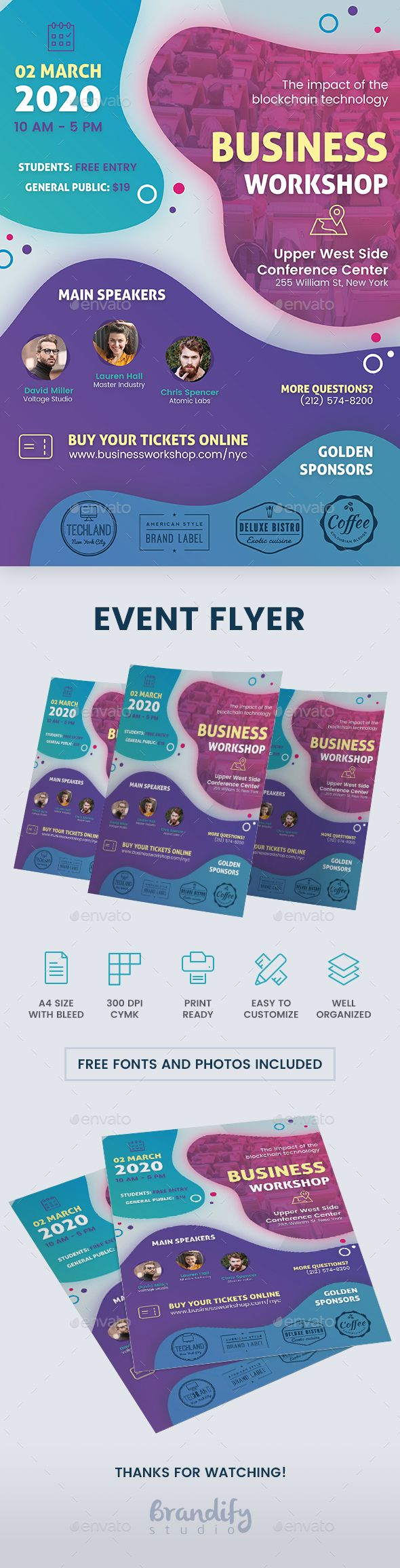 Event Conference Flyer Flyer, Event flyer, Event flyer