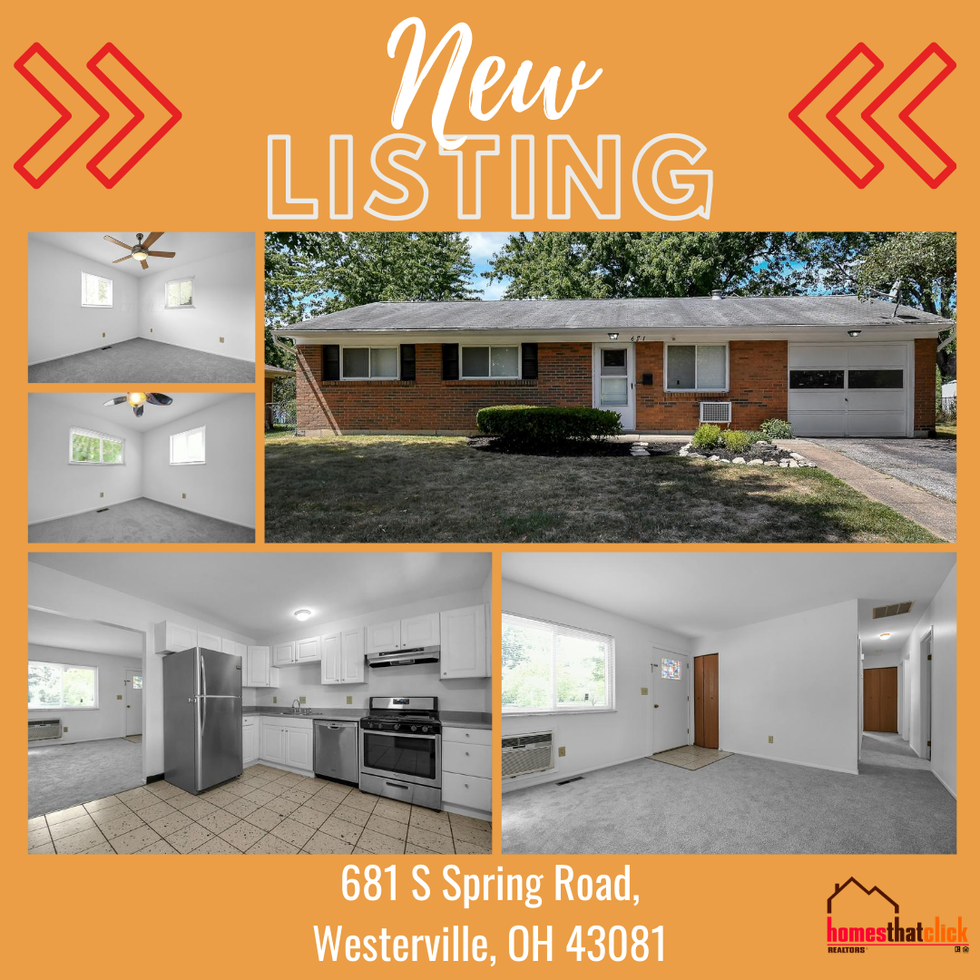 Just Listed Home For Sale In Westerville Ohio In 2020 Sell Your House Fast Home Fenced In Yard