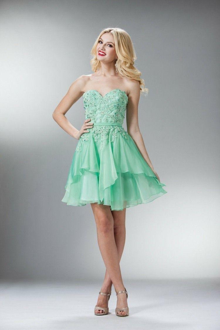 Robe bal de promo en 55 idées de couleurs, coupes et tissus | Dress ...