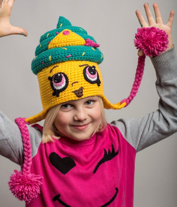 Shopkins Crochet PATTERN: Cupcake Queen Hat