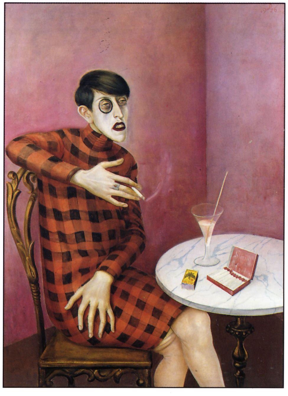 Otto Dix, la journaliste Sylvia von Harden (1926)
