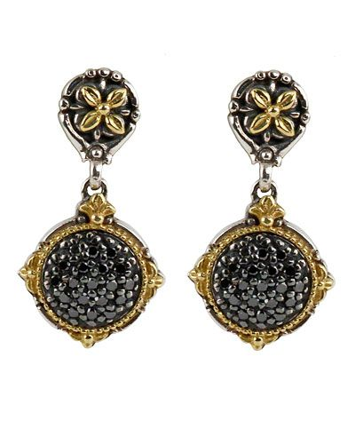 Konstantino Asteri Etched Freshwater Pearl & Diamond Dangle Earrings jesap