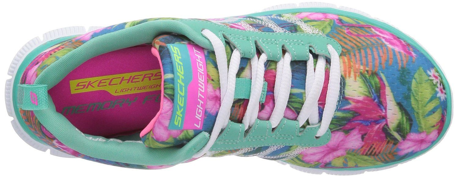 Zapatos Appeal Skechers Flex Floral es Bloom Mujer Para Amazon 6Iqvq5