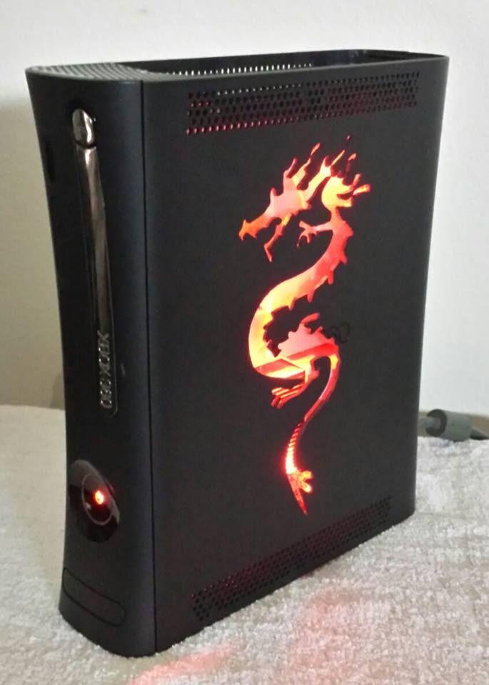 Jasper 500GB Zen Dragon RGH | Custom Xbox 360 Designs RGH JTAG