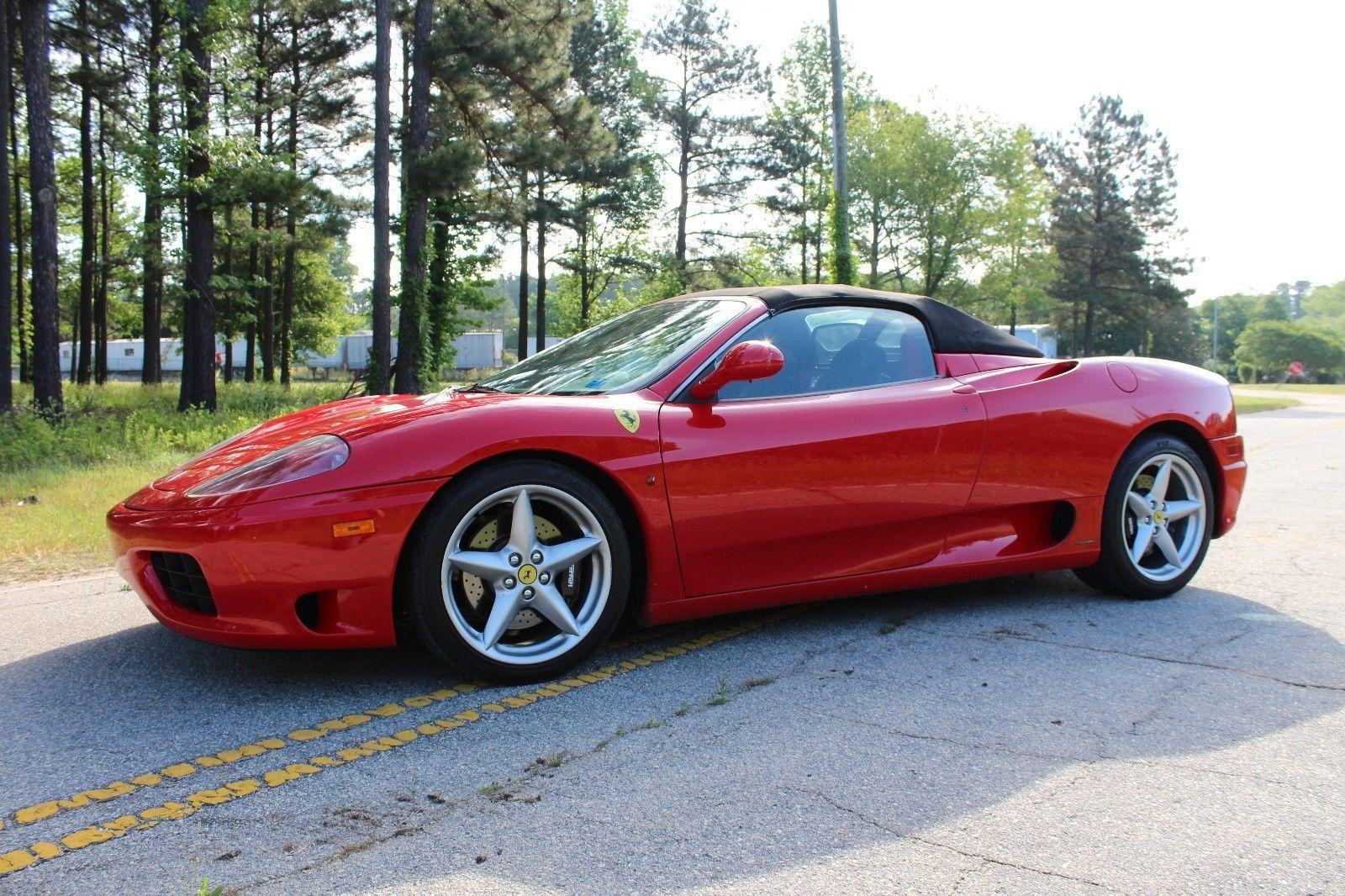 Awesome Amazing 2001 Ferrari 360 Modena Spyder 2001 Ferrari 360