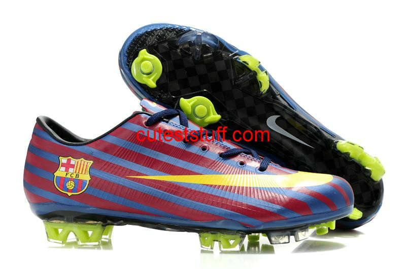 best website 9069c 75bdd Nike Mercurial Vapor VII Superfly III FG Red Blue Orange Barcelona  50