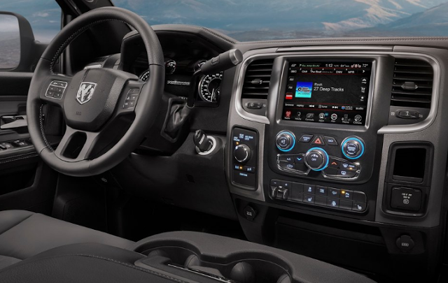 2017 Dodge Ram Power Wagon Interior