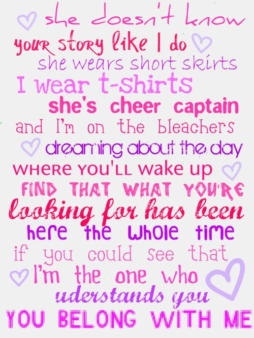 You Belong With Me Song By Taylor Swift Taylor Swift Lyrics Taylor Swift Songs Taylor Swift Lyric Quotes