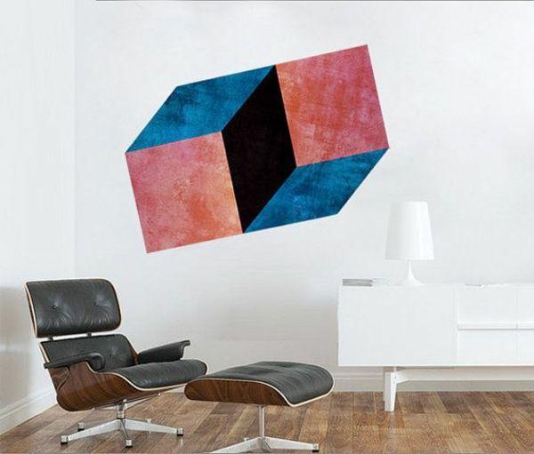 Perfect Optische Täuschungen Und Illusionen Eames Lounge Sessel