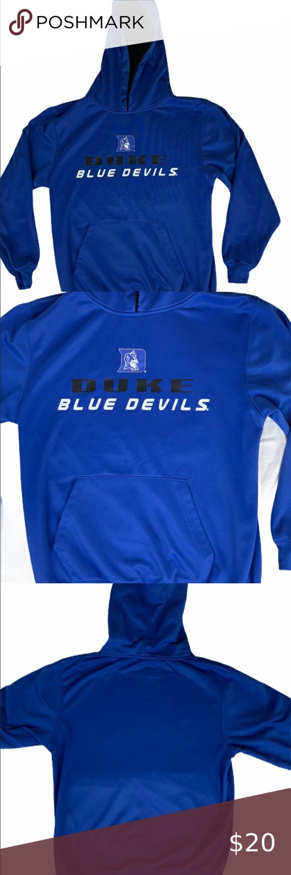 Youth Duke Blue Devils Hoodie Hooded Sweatshirt Brand Stadium Athletics Size M 12 14 Color Blue Condition Sweatshirts Hooded Sweatshirts Duke Blue Devils [ 1740 x 580 Pixel ]