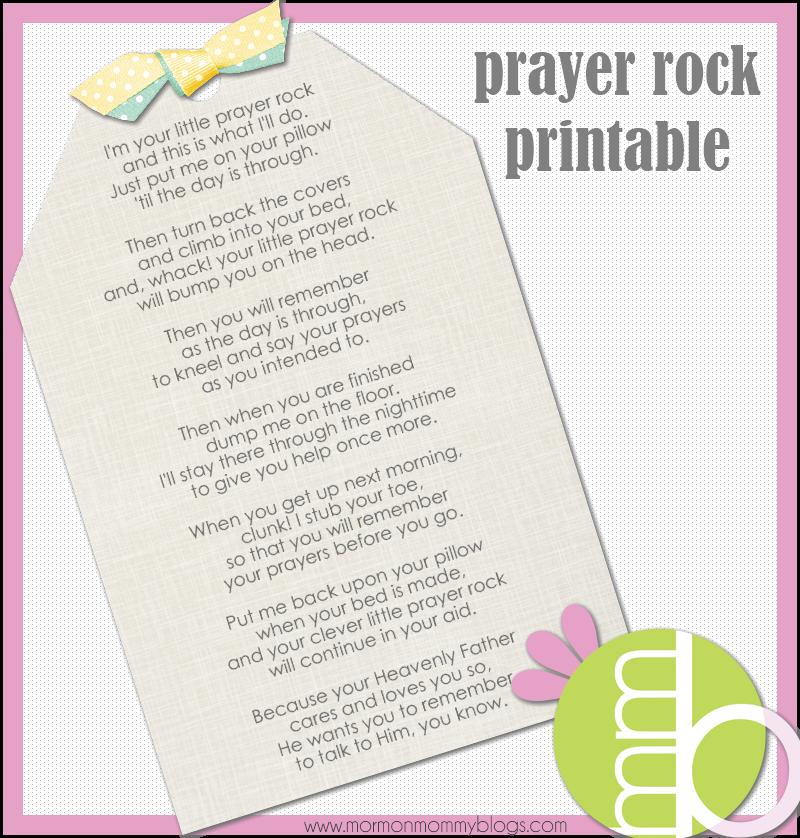 photo relating to Prayer Rock Printable known as Prayer Rock Poem Lds Similar Key terms Rules - Prayer
