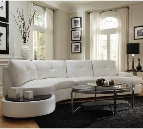 Faux Leather Sectional Under 1000 Living Room Sofa Design White