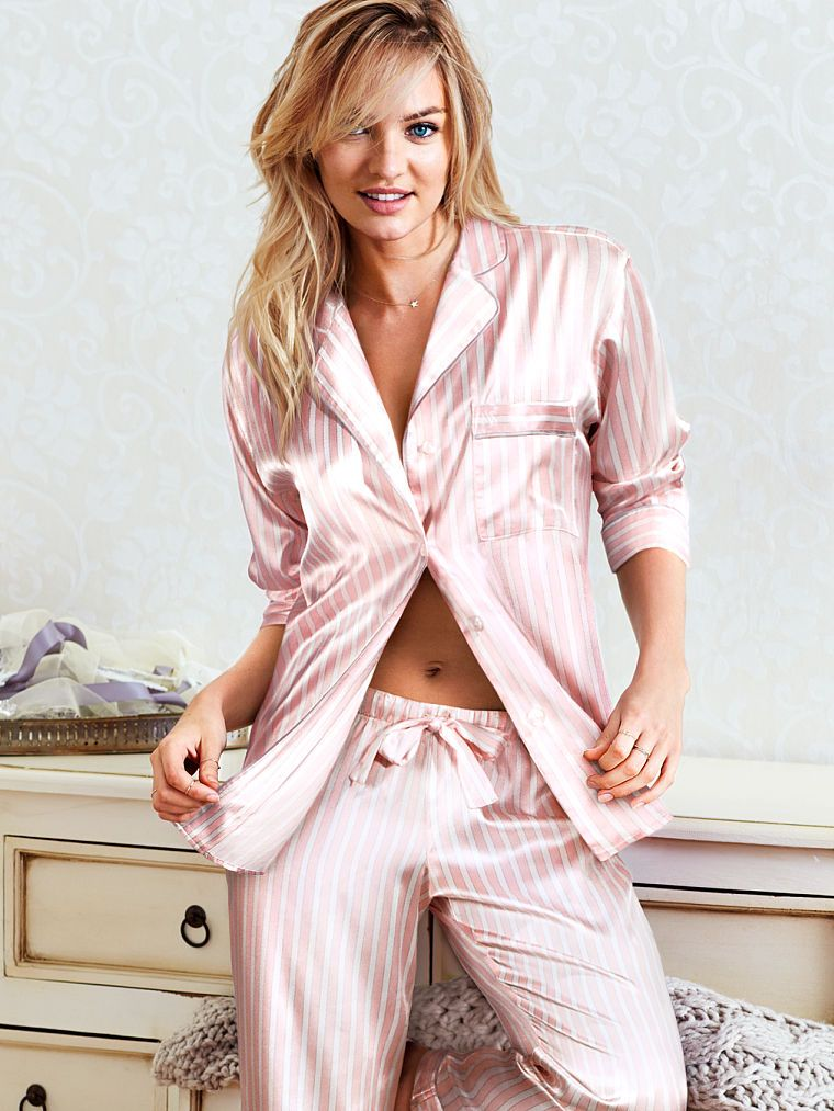 8267ded6080 The Afterhours Satin Pajama - Victoria s Secret Medium Short ...