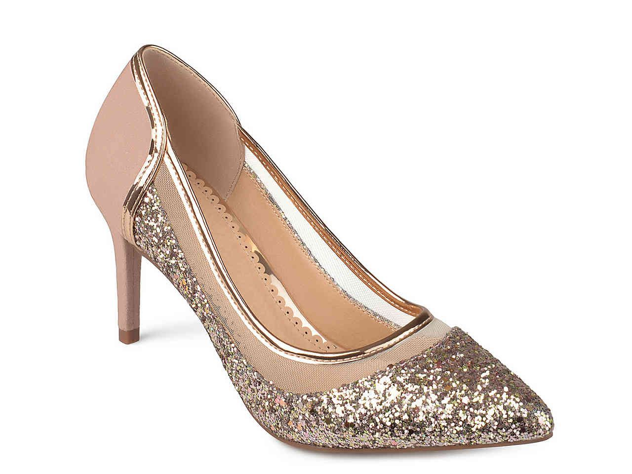 d1e092ce2272 Journee Collection Kalani Pump in Rose Gold from DSW