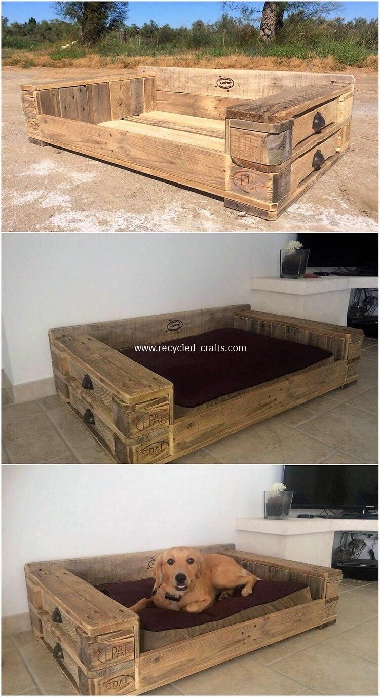 Lit Pour Chien Palette latest diy wood pallet ideas that will make you fall in love