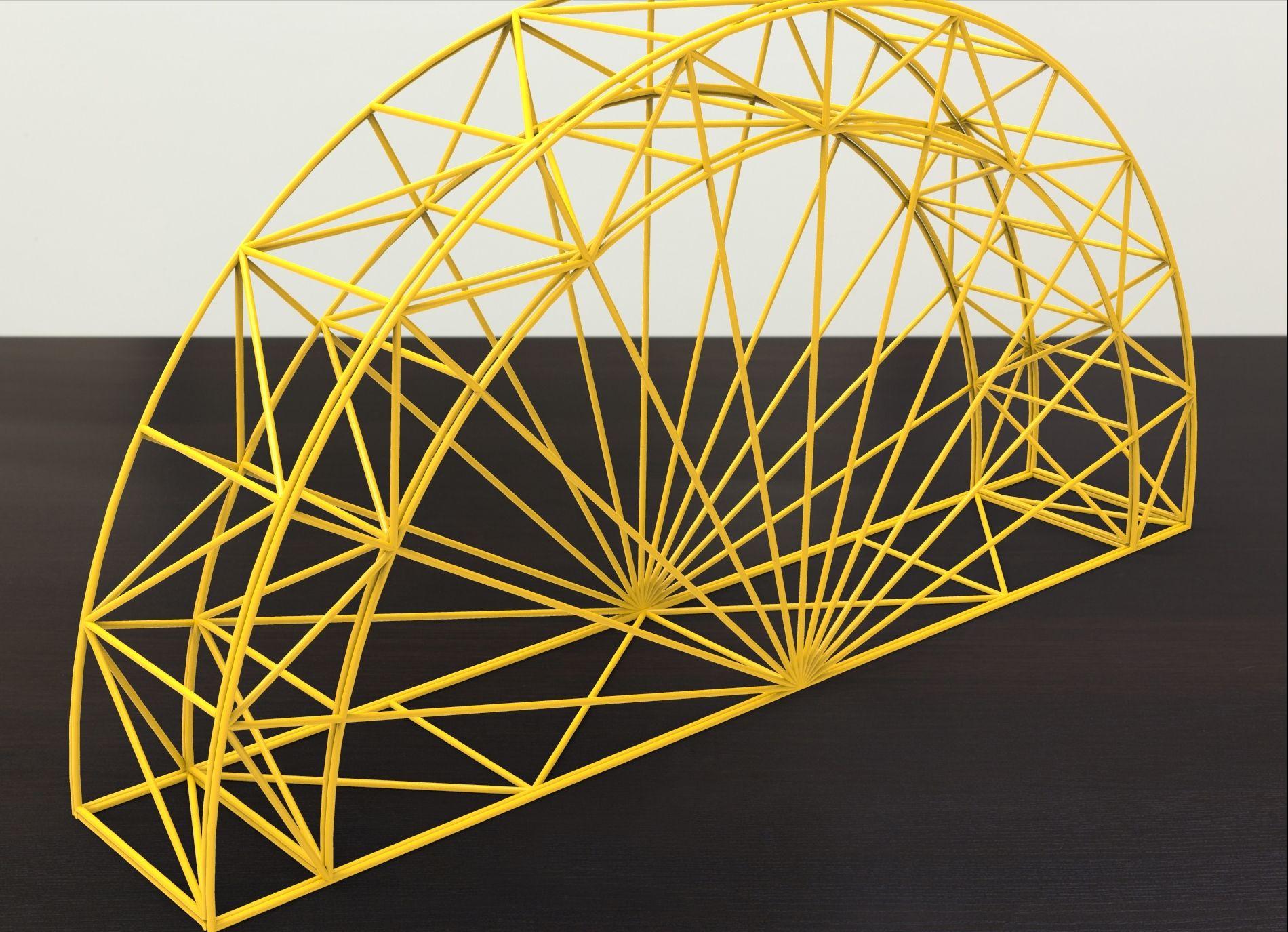 Pasta bridge engineering students richard williams for Bridge design