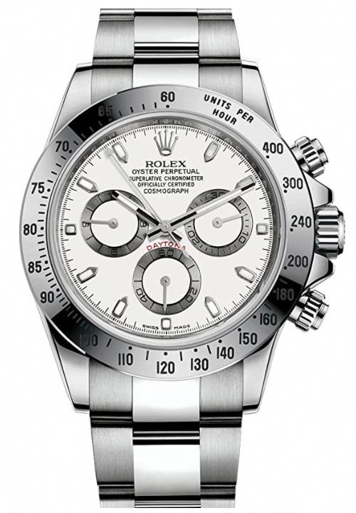 430b710bf74 Rolex Cosmograph Daytona stainless steel watch  mensluxurywatchesclassy Relógios  Rolex