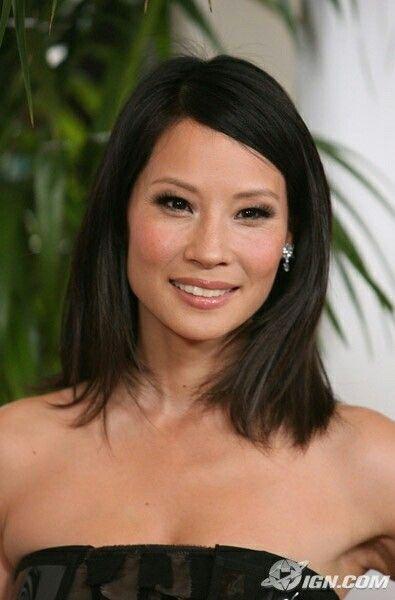 Lucy Liu | Coupe cheveux mi long asiatique, Cheveux asiatique, Balayage cheveux asiatiques