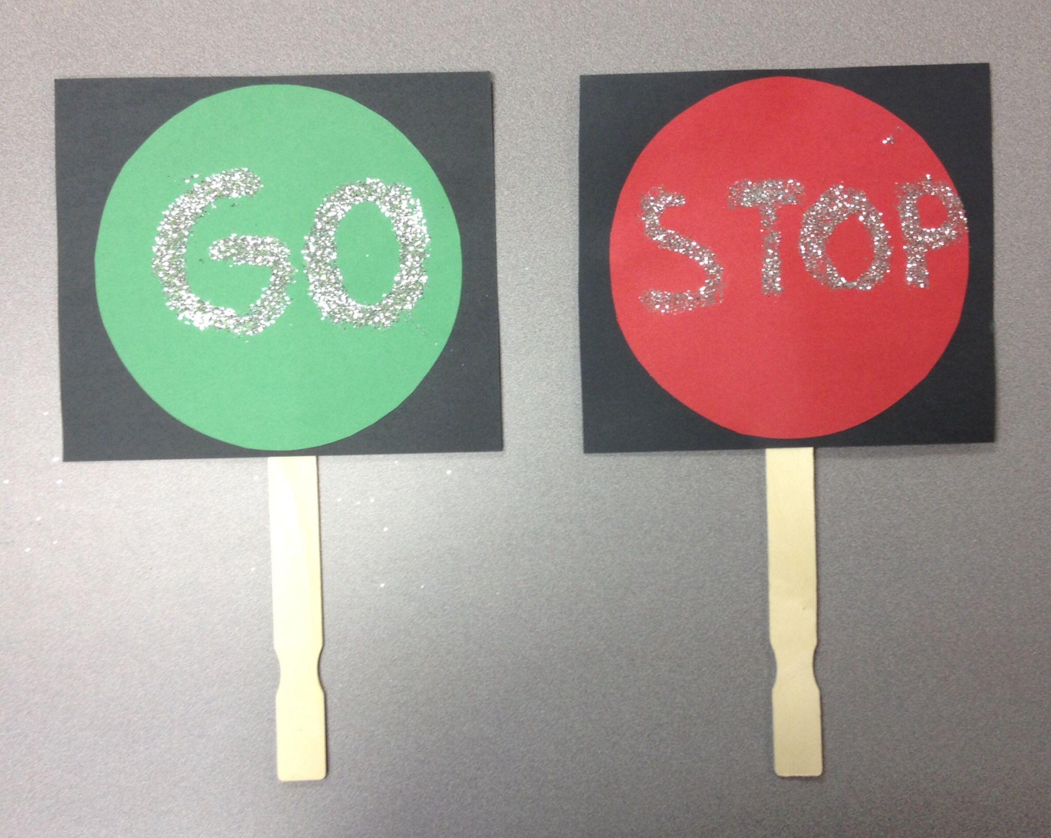 Preschool Gross Motor Activity Red Light Green Light
