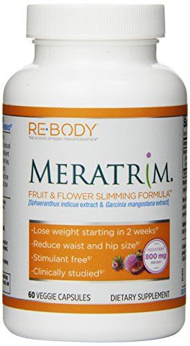 Re-Body Meratrim Fruit And Flower Capsules, 400mg, 60 Cou