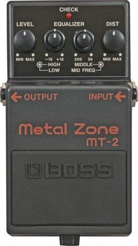 Boss MT-2 Metal Zone Distortion Guitar Pedal by Boss. $85.48