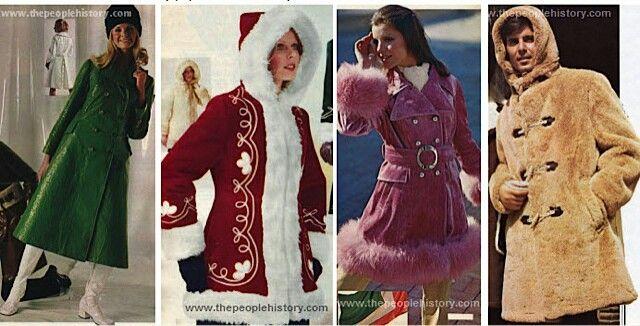 70s coats | Holidays & Fun Events | Pinterest