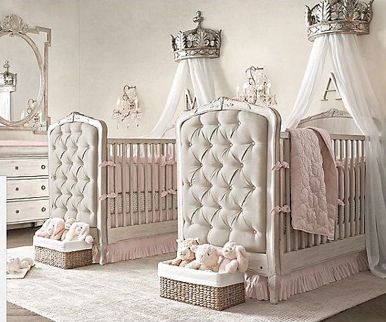 Castle Themed Nursery Princess Bedrooms Decorating Ideas Princes