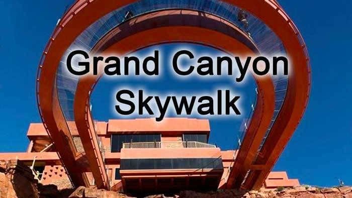 Driving directions on how to drive to Grand Canyon Skywalk from