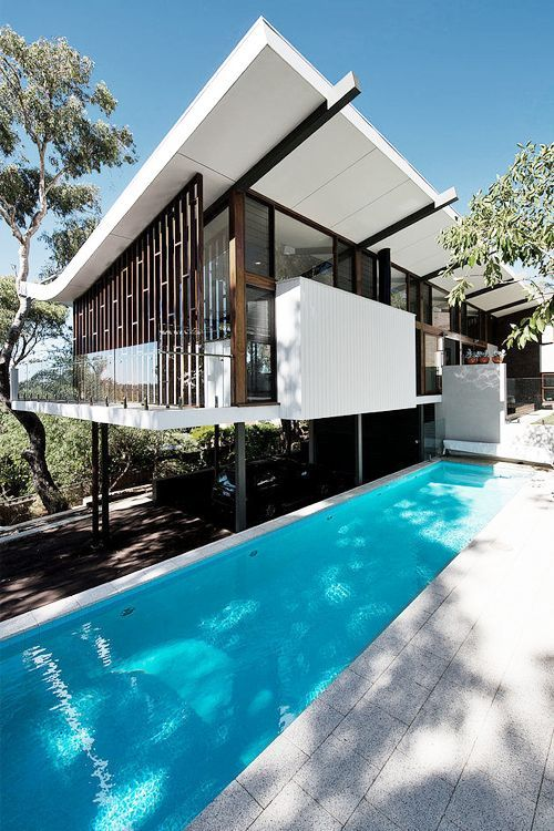 49 Most Popular Modern Dream House Exterior Design Ideas 3 In 2020: Architecture, House On Stilts, House Exterior