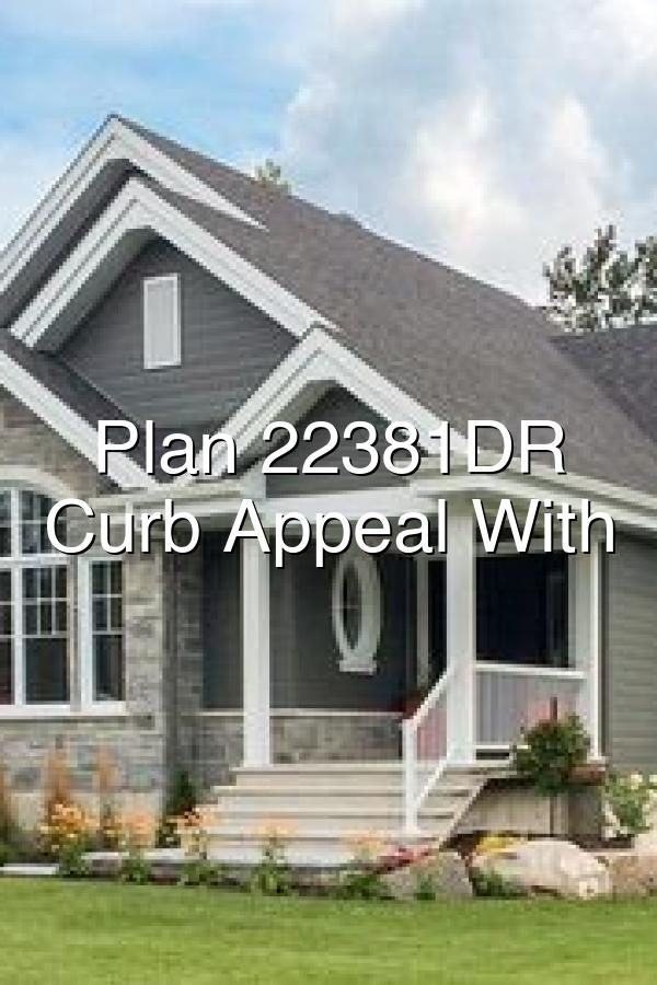 EyeCatching Curb Appeal With Options