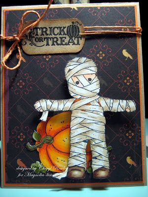 Cheryl Rowley: Cottage Creations: Who is that wrapped man?? - 10/29/09