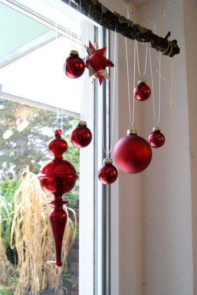 Weihnachtskugeln fenster kaagenbraassemvoetbal - Weihnachtskugeln fenster ...