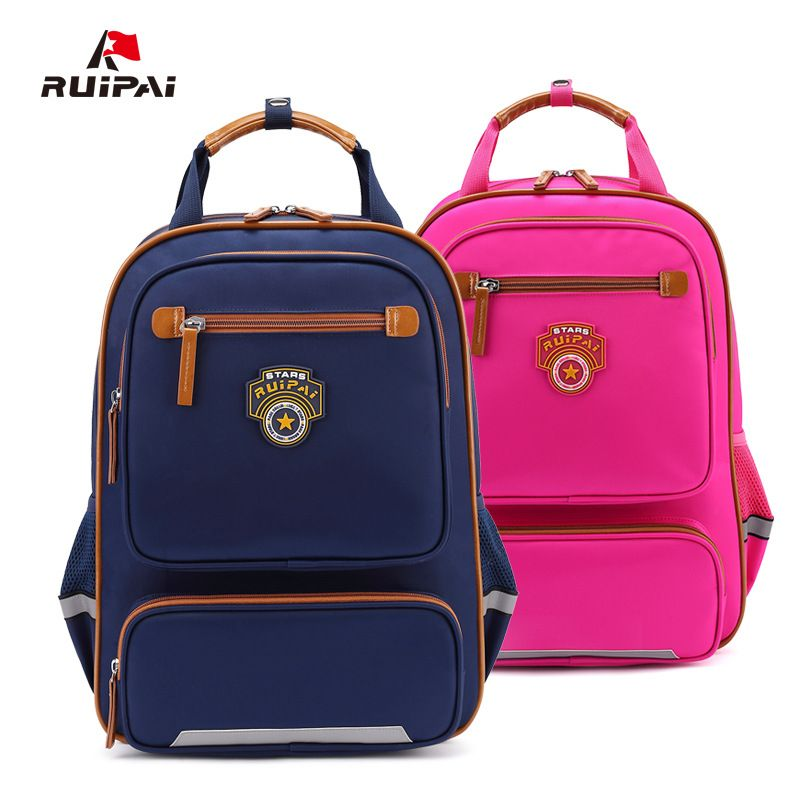 c630c3a68b  50% off  RUIPAI Fashion Backpack Schoolbag Kids Backpack School Bags  British Style Polyester