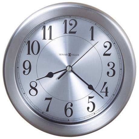 Howard Miller Pisces 8 1 2 Wide Water Resistant Wall Clock M8778 Lamps Plus Howard Miller Wall Clock Wall Clock Kitchen Clocks