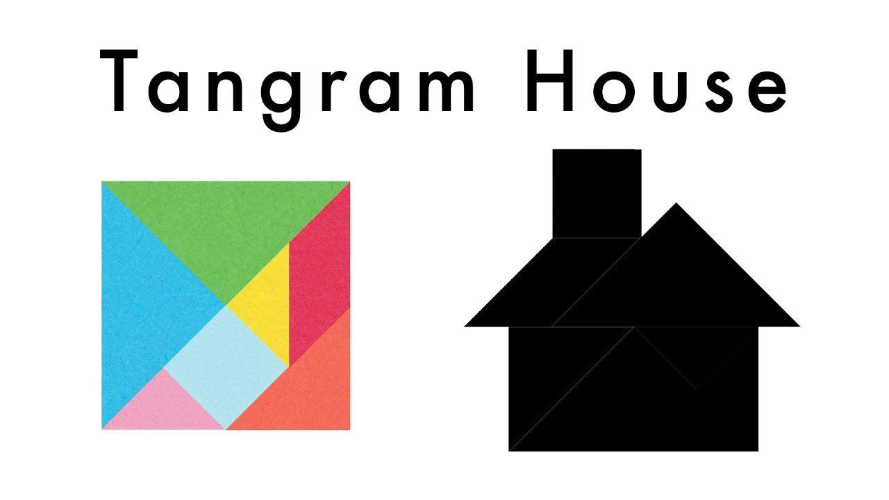 make this tangram house 🏠  download a free tangram puzzle