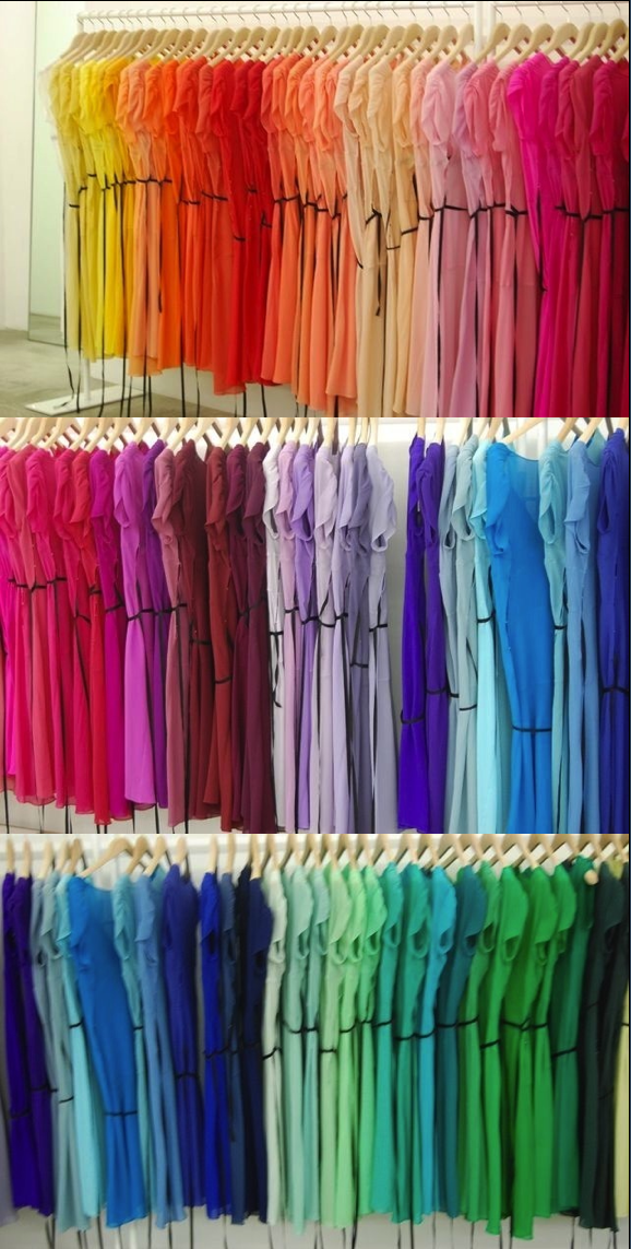 This Looks Like My Closet I Am Addicted To T Shirts All Of Them Rainbow Colors Bright Colors Art Happy Colors