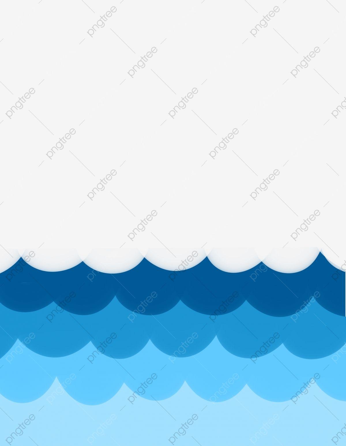 Ocean Waves Clipart Ideas Royalti
