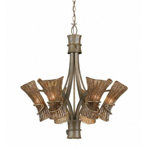 Triarch international 31533 bali collection 6 light chandelier triarch international 31533 bali collection 6 light chandelier tropical bronze with coffee tinted piastra aloadofball Image collections