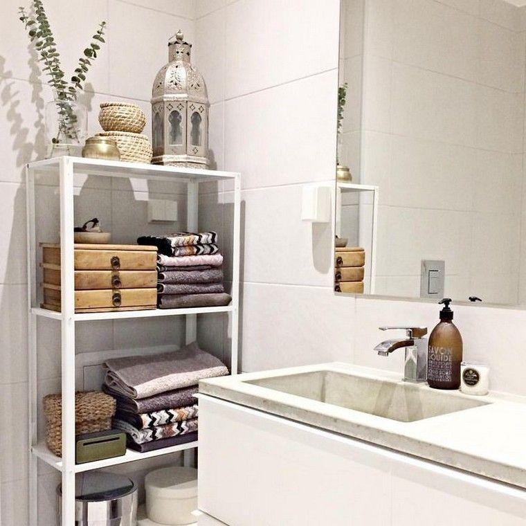 étagère Salle De Bain Rangement étagères Idée Meuble Salle De Bain Ikea  Bathroom Shelves, Diy