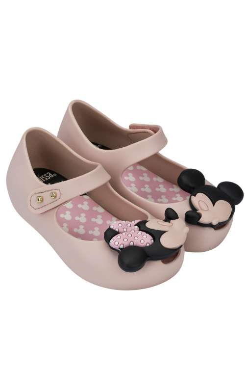 Mini-melissa Ultragirl + Disney Ballerines - Rose Et Violet OX45hX