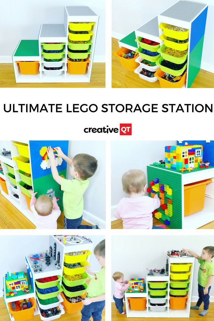Ultimate LEGO Compatible Storage Station