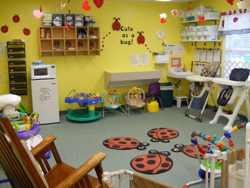 Apple Tree Daycare Preschool Center Infant Room Daycare Daycare Facility Infant Classroom