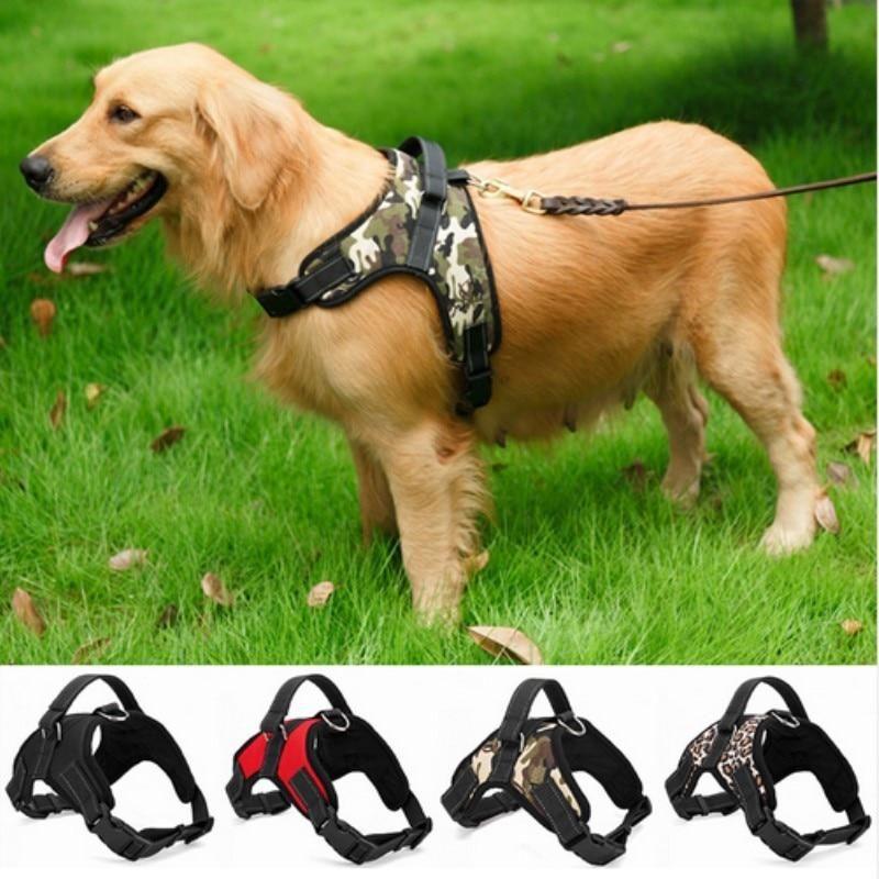Pin On Nylon Dogs Harness Collar Large Medium Small Dog Explosion