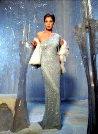 Miranda Frost Rosamund Pike James Bond 007 Die Another Day 2002 Bond Girl Dresses Bond Dress James Bond Girls
