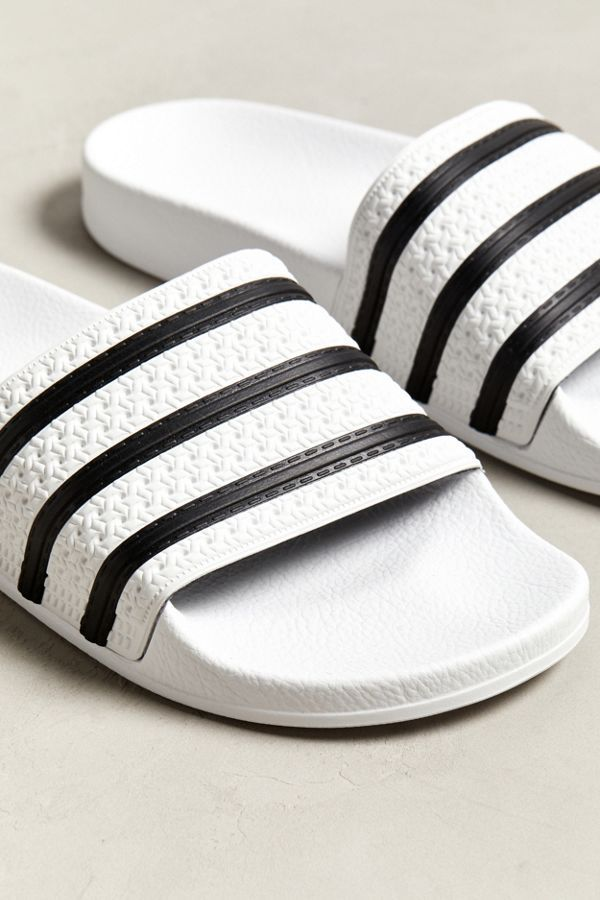 adidas Adilette Core Slide Sandal in 2019 | Mens casual
