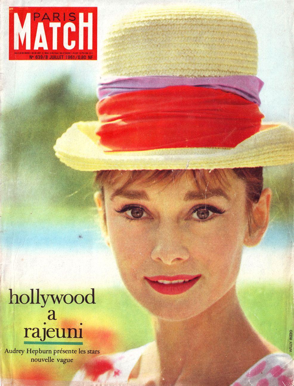 Audrey Hepburn in Paris Match
