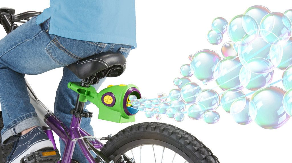 fa01e1f5bbe Bubble machines | 8 Kids Bike Accessories We Wish Were Acceptable for Adults