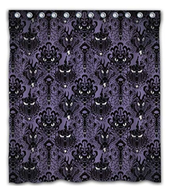Haunted Mansion shower curtain Disney Fall  Halloween Party