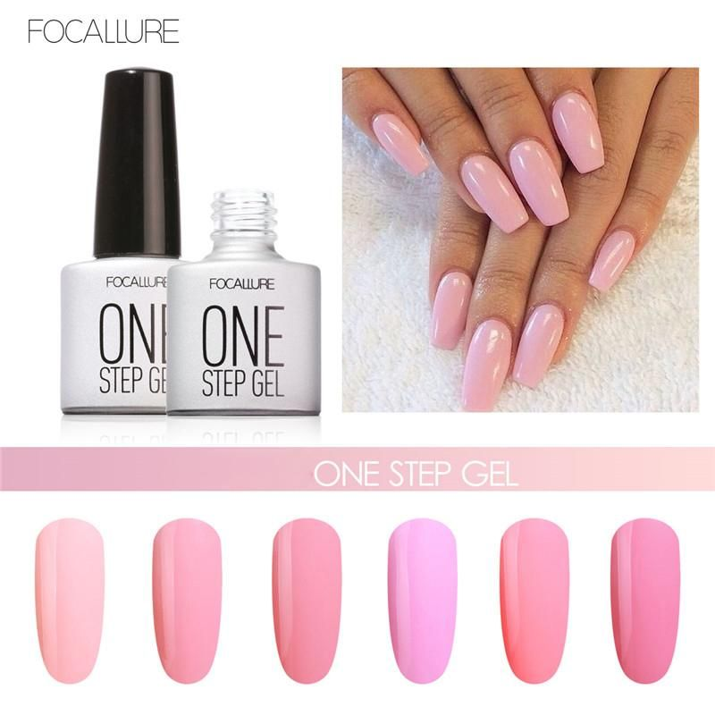 Professional Nail Art Tools For Women Girls Nude Pink Color Uv Gel