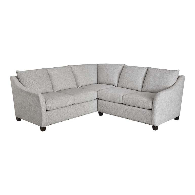 Studio loft cleo small l shaped sectional living room in - Small couch for studio ...